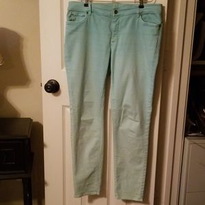 Two by Vince Camuto ombre jeans